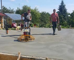 Grindu betonavimas,sienu tinkavimas, Santechnika