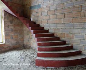 Laiptai Archiprojektas - Betoniniai laiptai