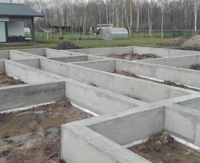 Pamatai ir kiti betonavimo darbai