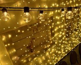 Lempučių girliandų burbulų nuoma