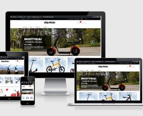 Interneto svetainių kūrimas.  El. parduotuvių kūrimas / E-svetainė  Andrius / Darbų pavyzdys ID 827967