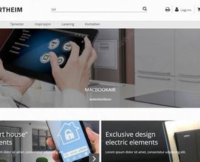 Interneto svetainių kūrimas.  El. parduotuvių kūrimas / E-svetainė  Andrius / Darbų pavyzdys ID 827971
