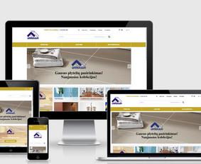 Interneto svetainių kūrimas.  El. parduotuvių kūrimas / E-svetainė  Andrius / Darbų pavyzdys ID 827973