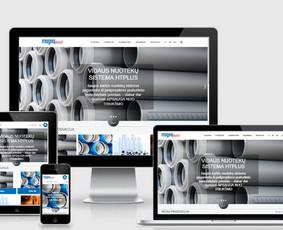 Interneto svetainių kūrimas.  El. parduotuvių kūrimas / E-svetainė  Andrius / Darbų pavyzdys ID 827981