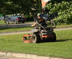 Žolės pjovimo profesionalai