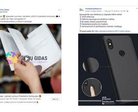 Pardavimų didinimas internetinės reklamos pagalba / Eglė Tertelė / Darbų pavyzdys ID 830957