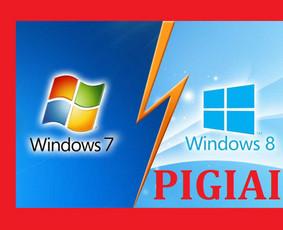 Pigiai įrašau, perinstaliuoju Windows 10, 8, 7, Xp