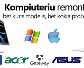 Kompiuterių remontas, pardavimas, supirkimas