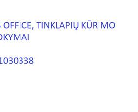 Ms Excel,ms Office Nuotolinis Individualus Mokymas