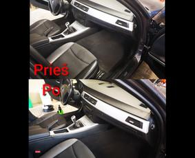 Automobilių salonų cheminis valymas