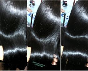 Plaukų tiesinimas-atstatymas Inoar keratinu