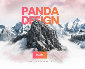 Kokybiškas Svetainių ir El. Parduotuvių Kūrimas / PandaDesign / Darbų pavyzdys ID 844809