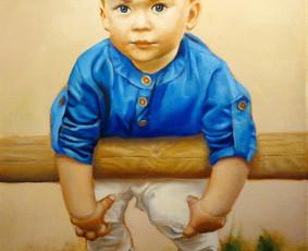 Vestuvių, krikštynų, gimtadienių portretų tapyba
