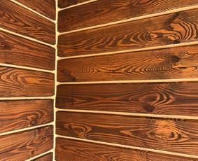 Rąstinių - medinių namų sandarinimas