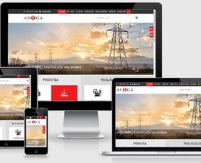 Interneto svetainių kūrimas.  El. parduotuvių kūrimas / E-svetainė  Andrius / Darbų pavyzdys ID 861033