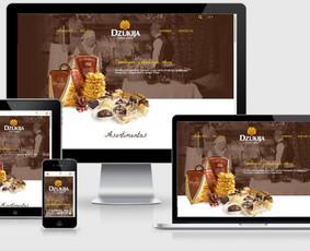 Interneto svetainių kūrimas.  El. parduotuvių kūrimas / E-svetainė  Andrius / Darbų pavyzdys ID 861039