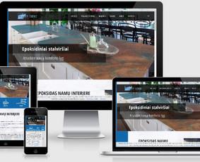 Interneto svetainių kūrimas.  El. parduotuvių kūrimas / E-svetainė  Andrius / Darbų pavyzdys ID 861041
