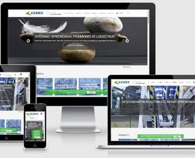 Interneto svetainių kūrimas.  El. parduotuvių kūrimas / E-svetainė  Andrius / Darbų pavyzdys ID 861043