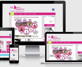 Interneto svetainių kūrimas.  El. parduotuvių kūrimas / E-svetainė  Andrius / Darbų pavyzdys ID 861049