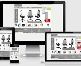 Interneto svetainių kūrimas.  El. parduotuvių kūrimas / E-svetainė  Andrius / Darbų pavyzdys ID 861055