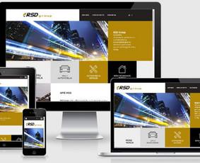 Interneto svetainių kūrimas.  El. parduotuvių kūrimas / E-svetainė  Andrius / Darbų pavyzdys ID 861059