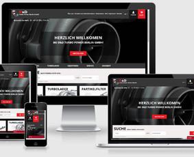 Interneto svetainių kūrimas.  El. parduotuvių kūrimas / E-svetainė  Andrius / Darbų pavyzdys ID 861067
