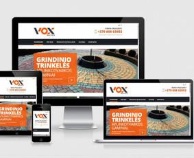 Interneto svetainių kūrimas.  El. parduotuvių kūrimas / E-svetainė  Andrius / Darbų pavyzdys ID 861073