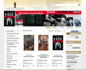 Interneto svetainių kūrimas.  El. parduotuvių kūrimas / E-svetainė  Andrius / Darbų pavyzdys ID 861095