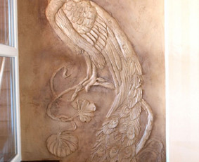 Interjero dekoravimas, bareljefai, freskos, sienų skulptūros / Lina / Darbų pavyzdys ID 100568