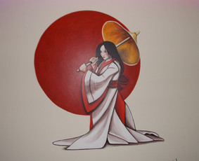 Interjero dekoravimas, bareljefai, freskos, sienų skulptūros / Lina / Darbų pavyzdys ID 100570