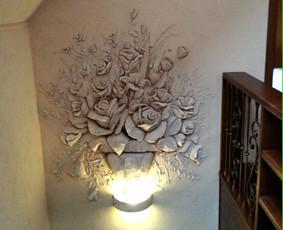 Interjero dekoravimas, bareljefai, freskos, sienų skulptūros / Lina / Darbų pavyzdys ID 100574