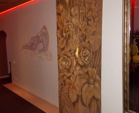 Interjero dekoravimas, bareljefai, freskos, sienų skulptūros / Lina / Darbų pavyzdys ID 100575