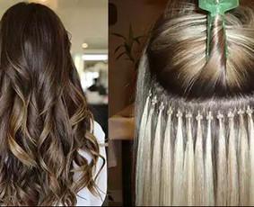 Priauginu plaukus