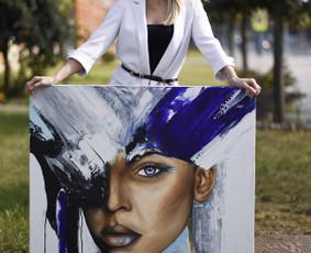 Modernaus meno atstove.Portretu tapyba