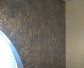 Sienų dekoravimas, išskirtinė vidaus apdaila.