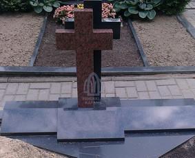 Paminklai kapams, kapų tvarkymas, granito plokštės / Tadas / Darbų pavyzdys ID 865947