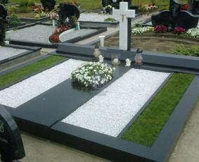 Paminklai, kapų tvarkymas, granito plokštės, antkapiai
