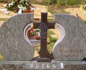 Paminklai kapams, kapų tvarkymas, granito plokštės / Tadas / Darbų pavyzdys ID 865955