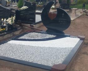 Paminklai kapams, kapų tvarkymas, granito plokštės / Tadas / Darbų pavyzdys ID 865967