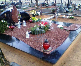 Paminklai kapams, kapų tvarkymas, granito plokštės / Tadas / Darbų pavyzdys ID 865969