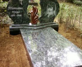Paminklai kapams, kapų tvarkymas, granito plokštės / Tadas / Darbų pavyzdys ID 865973