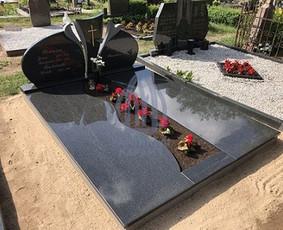 Paminklai kapams, kapų tvarkymas, granito plokštės / Tadas / Darbų pavyzdys ID 865981