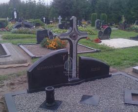 Paminklai kapams, kapų tvarkymas, granito plokštės / Tadas / Darbų pavyzdys ID 865983