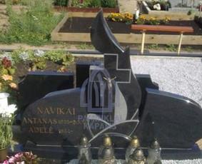 Paminklai kapams, kapų tvarkymas, granito plokštės / Tadas / Darbų pavyzdys ID 865989