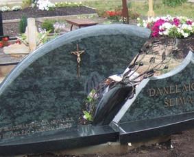 Paminklai kapams, kapų tvarkymas, granito plokštės / Tadas / Darbų pavyzdys ID 865999