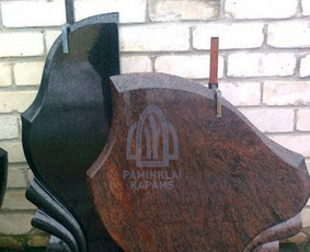 Paminklai kapams, kapų tvarkymas, granito plokštės / Tadas / Darbų pavyzdys ID 866235