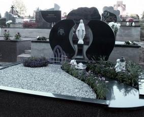 Paminklai kapams, kapų tvarkymas, granito plokštės / Tadas / Darbų pavyzdys ID 866237