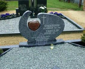 Paminklai kapams, kapų tvarkymas, granito plokštės / Tadas / Darbų pavyzdys ID 866239