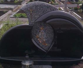 Paminklai kapams, kapų tvarkymas, granito plokštės / Tadas / Darbų pavyzdys ID 866243