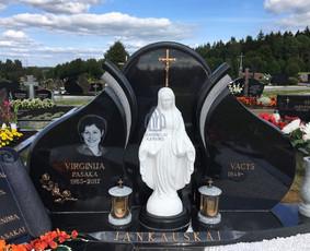 Paminklai kapams, kapų tvarkymas, granito plokštės / Tadas / Darbų pavyzdys ID 866247